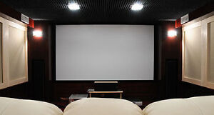 LED Projector Screen, projector and mount Brand New
