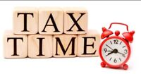 Tax preparation - check out my 5 star rating on Facebook