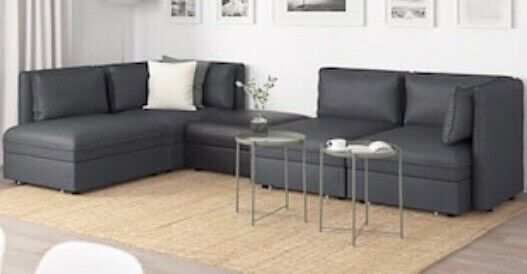 Ikea Vallentuna Modular 5 Seater Sofa With Double Bed And Storage In Bournemouth Dorset Gumtree