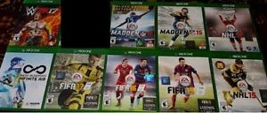 XBOX One Sports Games (Various Prices) /