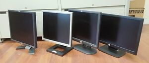 "4 x HP Dell Samsung Acer LCD widescreen computer monitor 17"" 20"""