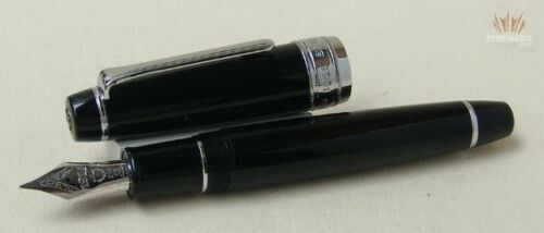 Sailor King Of Pens- King Professional Gear Black With Rhodium Trim Fountain Pen