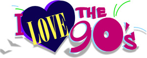 I LOVE THE 90S TOUR TICKETS - PAIR