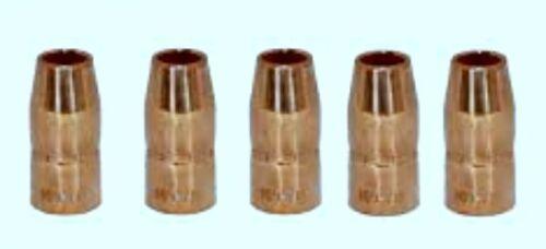 "5 Nozzles 1/2"" MLR 169715 M10/M15 & H10 MIG Welding Gun"