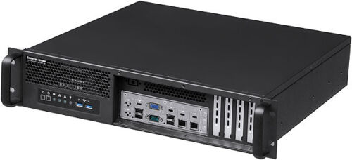 """2U(Front Access)(Micro-ATX/ITX)(2x3.5""""+2.5""""HDD)(Rackmount Chassis)(D14"""" Case)NEW"""