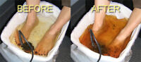 Ionic Foot Detox with Nutrition Support