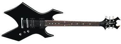 BC Rich Warlock Revenge Negro Guitarra Eléctrica