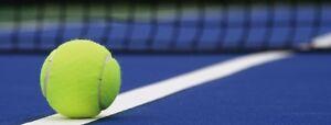 Instructeur de Tennis certifié / cours en privés ou groupe.