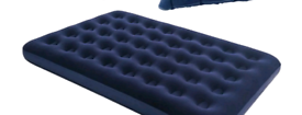double blow up bed