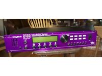 Digitech 2120 Artist anaglog valve/solid state preamp + FX processor with foot controller