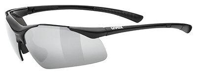 Uvex Fahrradbrille Sportbrille sportstyle 223 black/silver