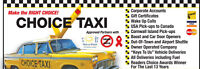 Looking for full or part time Choice Taxi Driver.