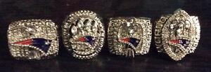 New England Patriots Tom Brady Superbowl Rings!