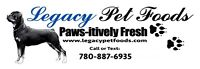 Legacy Pet Food Inc. Raw Diet