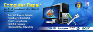 Quick Fix! All kind of Computer, Laptop,Mac Gaming PC Repair!!!