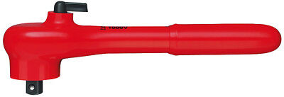 Knipex 98-31 Insulated Reversible Ratchet 38 Square Drive