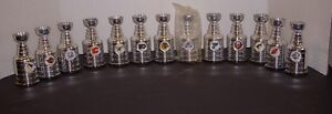 VINTAGE LOT 13 LABATTS NHL MINI STANLEY CUPS - VERY COLLECTIBLE London Ontario image 1