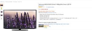 NEED GONE.Samsung UN32H5203 32-Inch 1080p 60Hz Smart LED TV