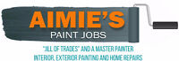 Hire an ALL Female Paint crew Barrie and North Simcoe areas