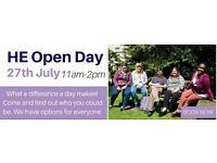 Higher Education Open Day