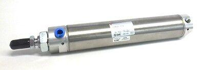 Smc Pneumatic Cylinder Ncmb150-0600a 1.5 Bore 6 Stroke Air Cushion