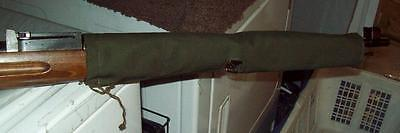 M-39 finnish rifle/ mosin nagant / barrel cover / green camo/ reenactor/ 7.62x54 for sale  Canada