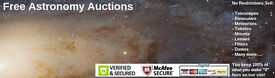 Astronomy Auctions - Free listings! Zero Fees! You keep Everything You Make!