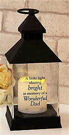 Battery Operated Memorial Candle Lantern
