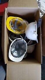 9 x Safety Helmets