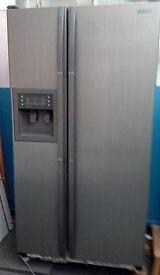 samsung grey american fridge freezer