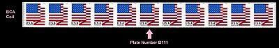 US Flag forever PNC11 BCA B111 MNH 2018