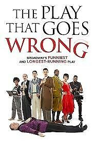 2 ADULT & 2 '16 AND UNDER' TICKETS TO 'THE PLAY THAT GOES WRONG' SUNDAY 26 AUGUST 2018 3PM LONDON