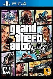GTA 5 / V FOR PS4 EXCELLENT CONDITION