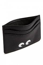 Auth Anya hindmarch brand new card holder in black with eyesin Morningside, EdinburghGumtree - In original package, gift box, auth card, dust clothes. Refer to official website 125£ in retail.can hold 5/6 cards. Unisex for men and women as perfect gift. Text for collecting time