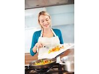 A COOK AND HOUSEKEEPER WANTED