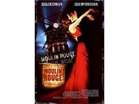 Secret Cinema Moulin Rouge (1 Tickets Children of the Underworld) Saturday 15 April