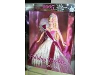 Holiday barbie 2005 excellent condition