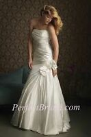 Size 12 Allure Wedding Dress, Never Worn or Altered**REDUCED**