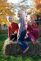 Small Square Hay Bales - Photo Shoot Accessory/Prop/Decoration