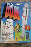 """Estes Flying Rocket """"The Dude"""" - Over 6 ft Tall! w/extra Engines"""