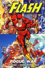 Flash : Rogue War Trade Paperback Excellent condition!