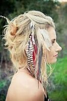 Feather hair extensions!!!! Amazing fun!
