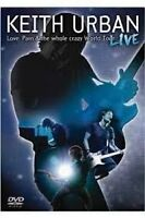 Keith Urban Concert DVD-Love, Pain and Whole Crazy World Tour