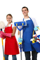 ENTRETIEN MENAGE / CLEANING SERVICES