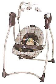 Graco Lovin' Hug swing- like new