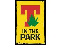 T in the park tickets today