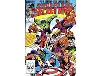 Wanted American Comic Books - Marvel , DC etc