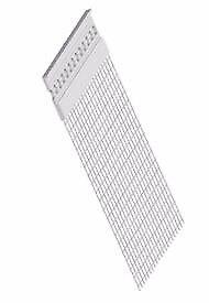 Stop Bead pvc 3mm with fibreglass mesh – 2.5 m external insulation pack of 10