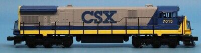 MTH O Gauge CSX #7015 General Electric C30-7 w/ Proto Sound Engine #20-2012-1U, used for sale  Shipping to India