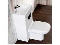 New and never used toilet and sink combined
